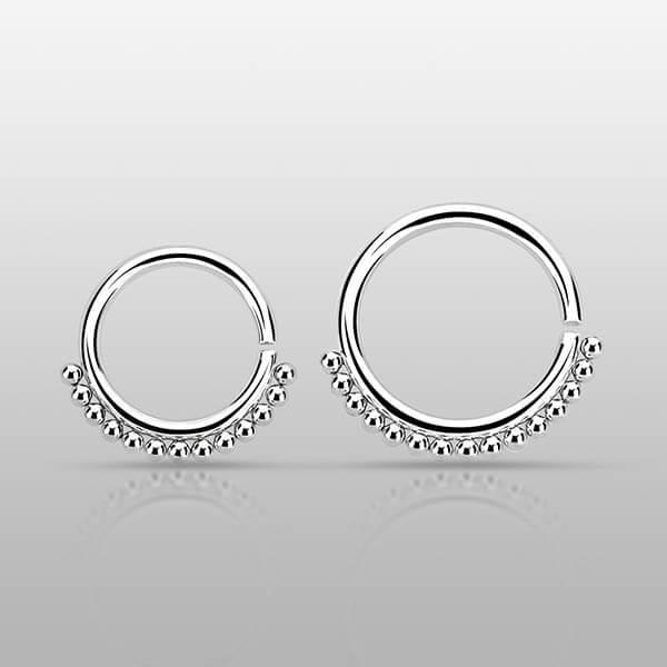 Sterling Silver Septum Ring
